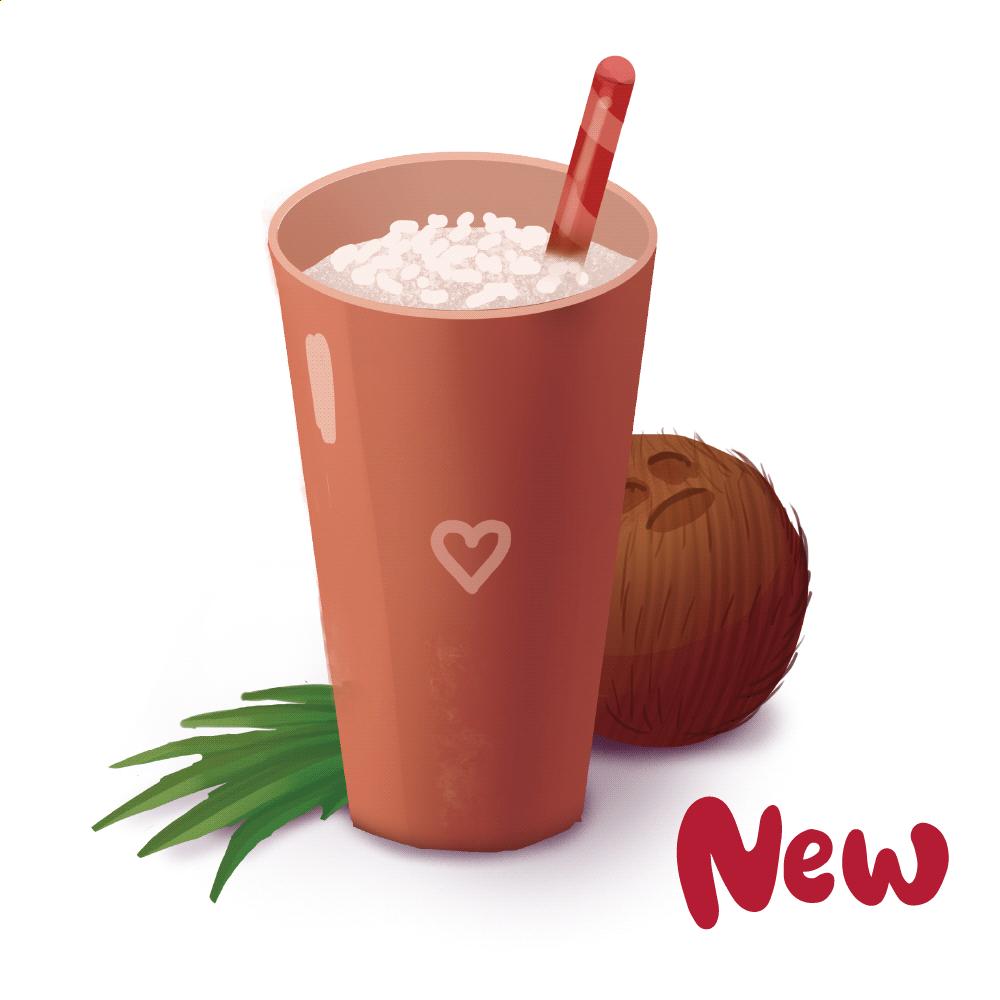 Раф кокосовый